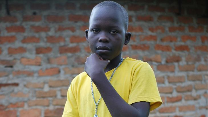 Ivan (13) uit het noorden van Uganda was vroeger kindsoldaat.