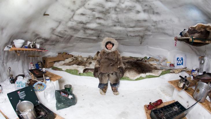 Het is in een iglo minder koud dan je denkt. Het is er net boven nul.