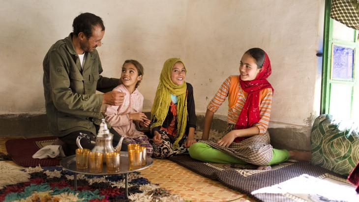 Zakya en haar familie zijn moslims in Marokko. De eerste moslims woonden in Mekka in Saoedi-Arabië.