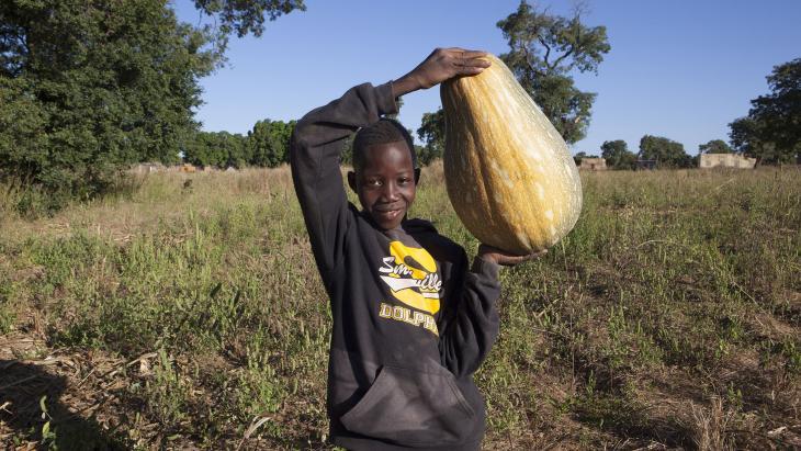 Amadou uit Mali.