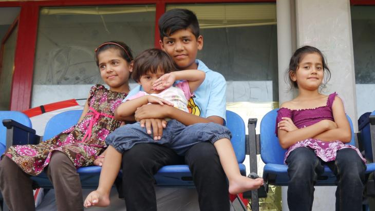 Dawar (12) vluchtte samen met zijn moeder en zusjes uit Afghanistan.
