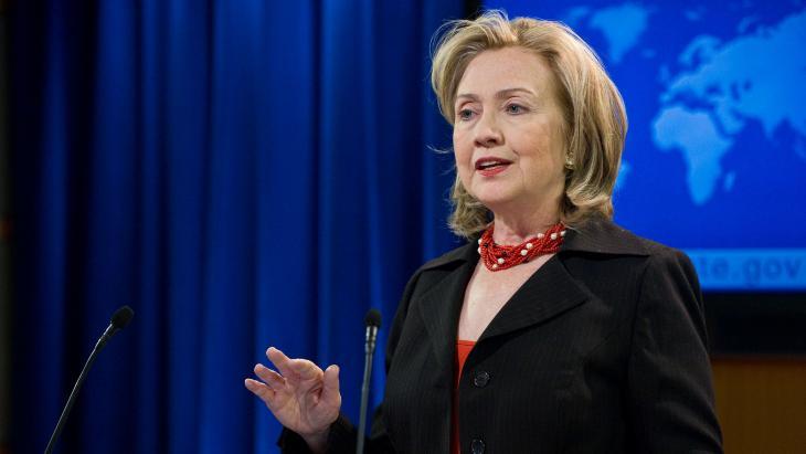 """Clinton: """"Gewone Amerikanen hebben een kampioen nodig. Ik wil die kampioen zijn."""""""