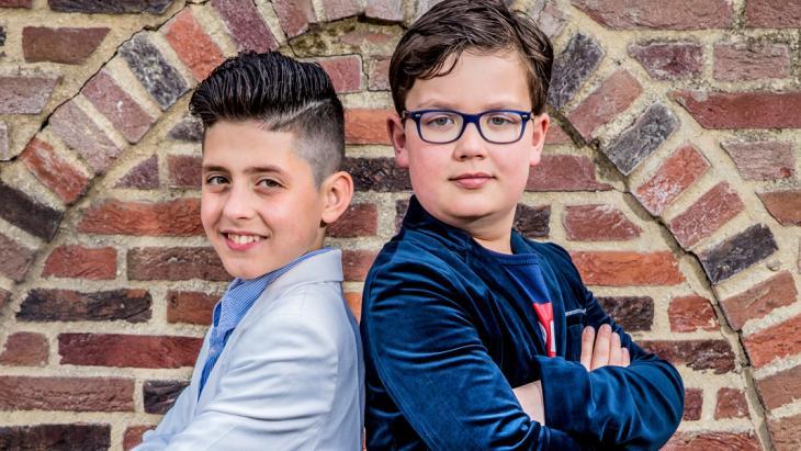 Abbas (links) en Hidde leerden elkaar kennen via het Buddy to Buddy-project in Zutphen.