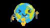 Globy draagt een gouden ketting met het dollar teken