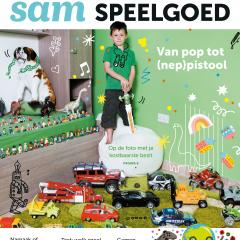 Cover van het speelgoed thema van Samsam